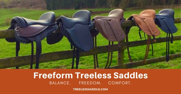 Freeform Treeless Saddles