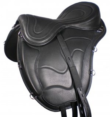 Freeform Classic Cutback Treeless Saddle - for High Withered Horses