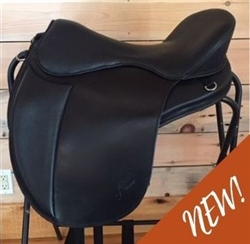 Dressage Saddle, Treeless Dressage saddle, Freeform Treeless Saddle, Tempo