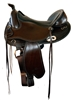 Freeform Western Virginian Barrel Treeless Saddle