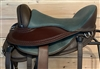 Freeform Pathfinder Treeless Trail Saddle with Leathers